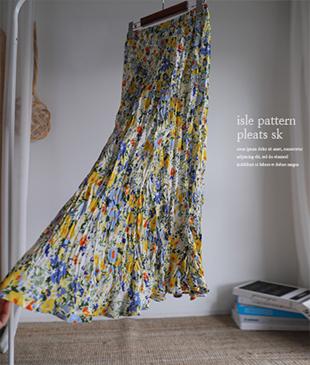 Isle Pleats39 skirt<br>