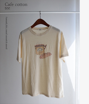 Cafe Cotton 57 tee<br>