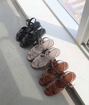 Opar leather 83 sandals<br>