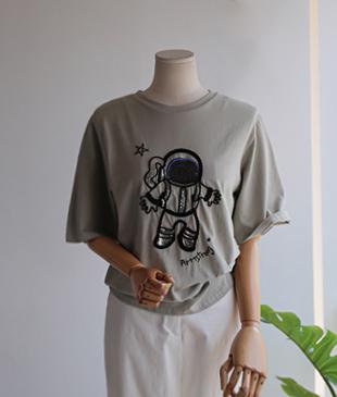 Astro cotton 73 tee<br>