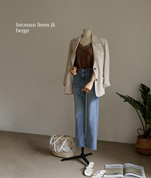 Isroman Linen79 jacket<br>