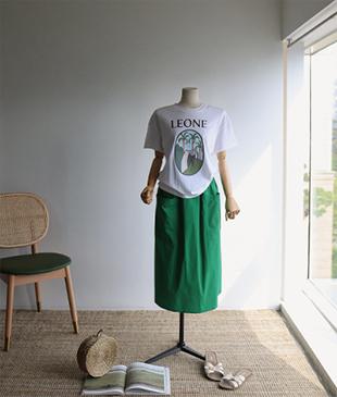 Leone cotton 01 tee<br>
