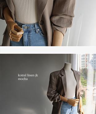 Kotral Linen86 jacket<br>